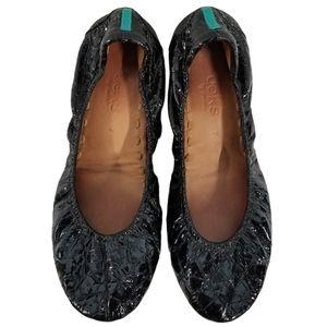 Tieks Obsidian Black Flats Size 7